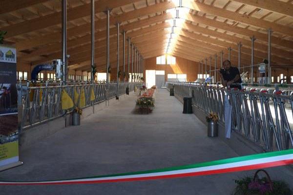 Azienda agricola Magnani, inaugurazione