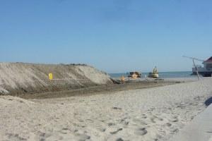 accumulo sabbia Milano Marittima
