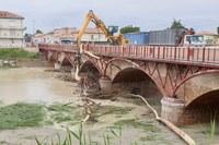 Alluvione 2019, maltempo, ponte, esondazione savio