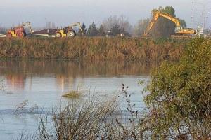 Argini, fiume, difesa del suolo