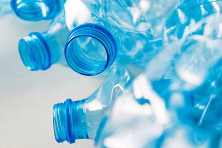 Bottiglie plastica, plastica, plastic free