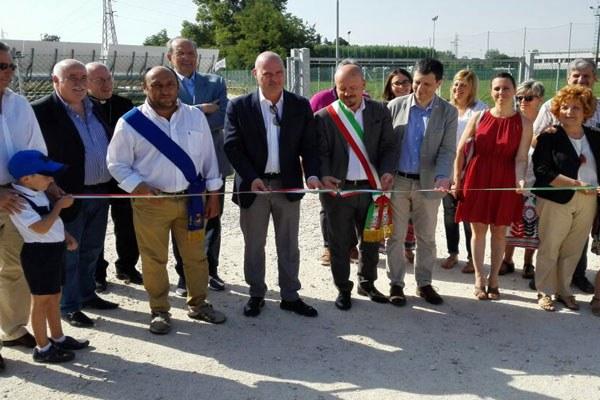 Campo solare Villa Selva, inaugurazione