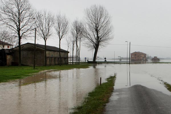 Fiume Secchia, fiume, alluvione