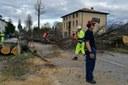 Emergenza Veneto colonna mobile protezione civile RER a Feltre Belluno novembre 2018