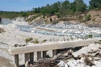 Traversa Marecchia maltempo maggio 2019 ponte fiume 2