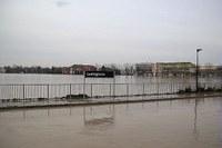 Lentigione di Brescello - alluvione  dicembre 2017