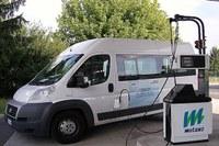 Furgone, veicolo commerciale, auto a metano