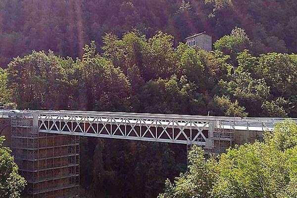 Ponte di Armorano, inaugurazione, Parma