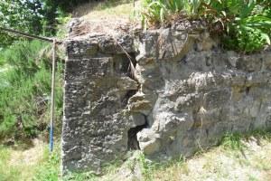 Muro lesionato Riola Vergato