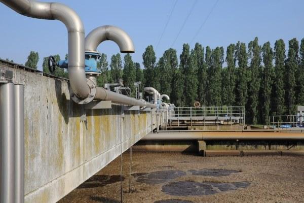 Samaritani, vasche depurazione acque iren