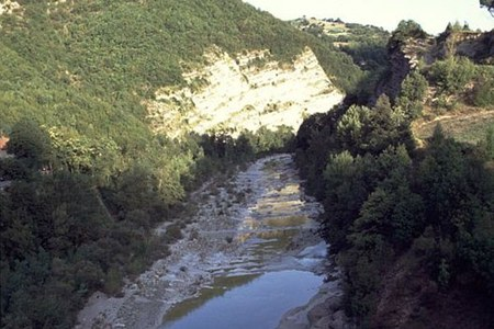 Fiume Santerno, fiume, valle