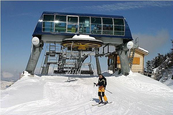 Sci, montagna, neve, Appennino, sciatore
