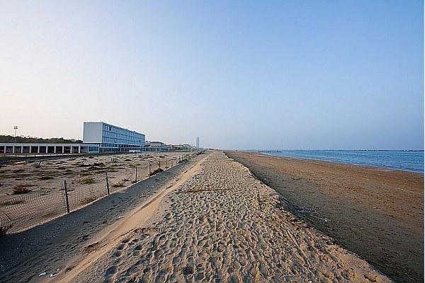 Spiaggia, riviera, autunno