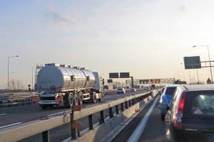 tangenziale smog traffico auto
