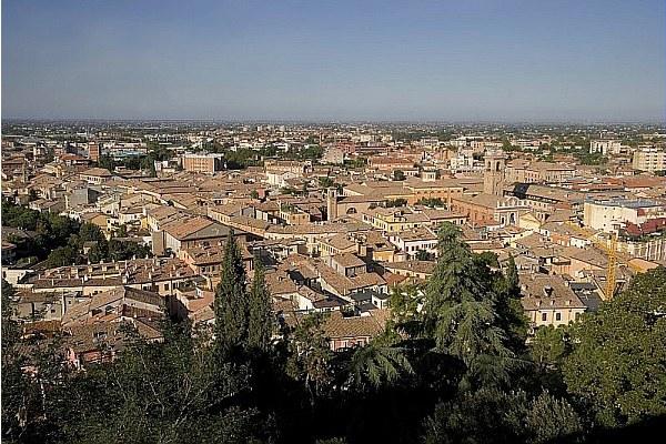 Cesena, centro, case, palazzi, abitazioni