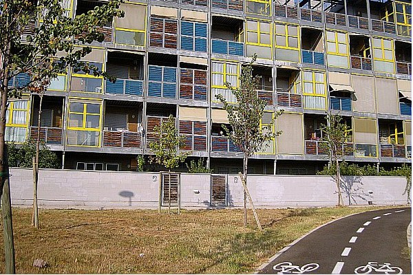 Edifici, palazzi, città, ristrutturazione