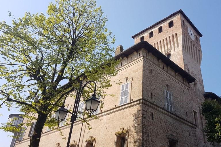 La Rocca dei Terzi a Sissa Trecasali (Parma, 3 aprile 2017)