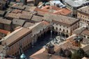 Ravenna, centro storico, veduta aerea