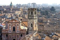 Reggio Emilia, città, centro storico, veduta dall'alto