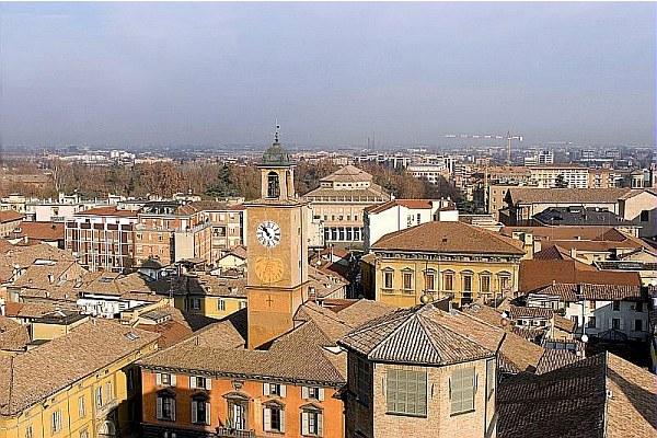 Reggio Emilia, tetti