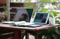 Computer, internet, connessione, dispositivi mobile