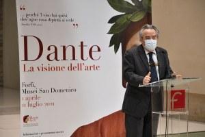 Mostra  Dante Forlì, intervento Felicori