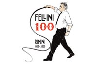 Logo centenario Fellini