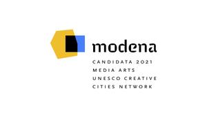 Modena Città creativa Media Arts UNESCO, logo