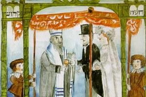 Luzzati Matrimonio, dettaglio