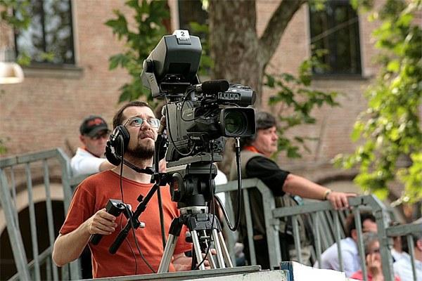 Operatore cinematografico, telecamera, cinepresa, cinema