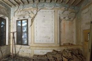 Ricostruzione, Palazzo Sartoretti Reggiolo (Re), interno danneggiato