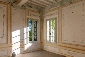 Ricostruzione, Palazzo Sartoretti Reggiolo (Re), interno