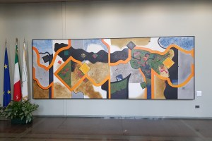 Collezione Arte Regione - Opera in portineria