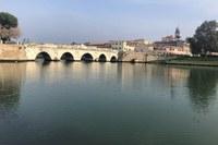 Il ponte di Tiberio, Rimini