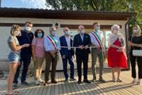 Mulino Scodellino Un momento dell inaugurazione.jpg