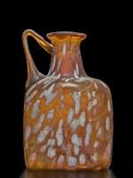 bottiglia vetro ambito romano sec. I d.C. (0 - 99 d.C.)