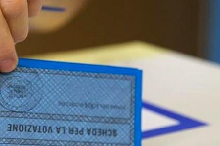 Elezioni comunali, scheda azzurra, urna
