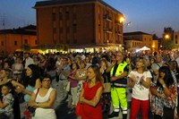 Sisma - Piazza Cavezzo, sera