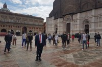 Donini, evento in Piazza maggiore