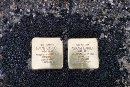Pietre d'inciampo a ricordo delle vittime dell'Olocausto