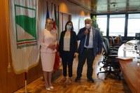 2-Incontro vicepresidente Schlein e ambasciatrice della Slovacchia e Console per l'ER