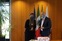 Bonaccini e Console del Messico in Italia