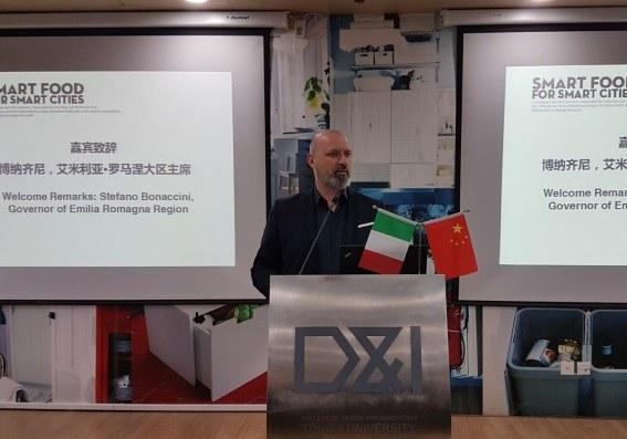 23-11-2017 Cina, incontro Tongji University