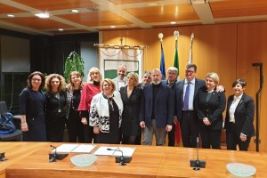 Firma  protocollo  RER e Consiglio nazionale dell'Ordine dei consulenti del Lavoro su AsseCo