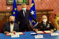 Accordo aerospazio Bonaccini - Guerini