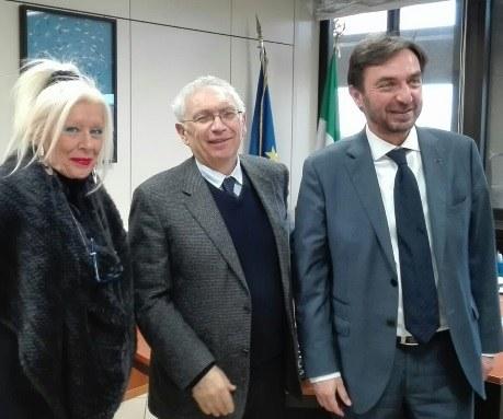 Bianchi incontra assessore e console Regione greca Creta - 13/12/2017