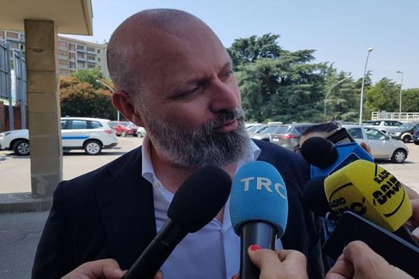 Incidente Borgo Panigale - Bonaccini intervista davanti al Maggiore