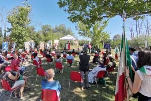 Bonaccini a celebrazioni a Fossoli  12 luglio 2020