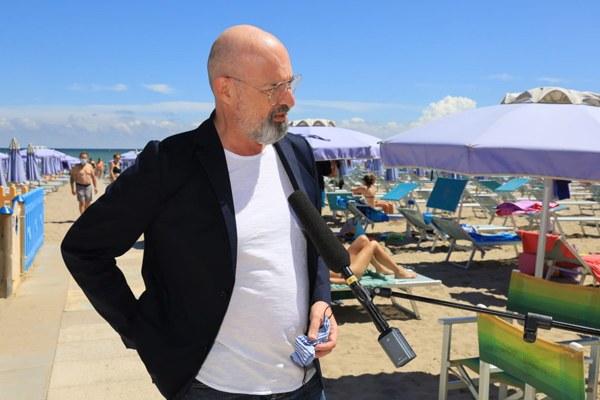 Bonaccini a Misano Adriatico per rilancio turistico (20 giugno)