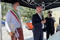 Bonaccini in visita a Pieve di Cento (Bo) - 1